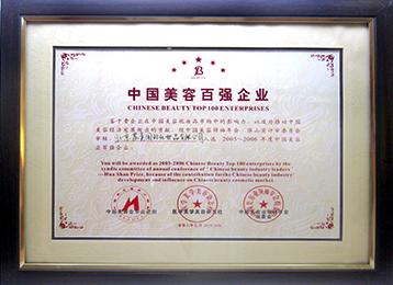 中国美容百强企业